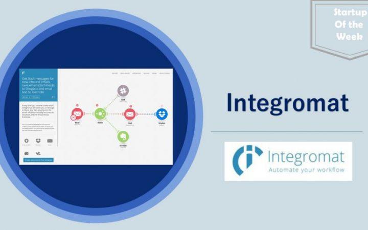 startup of the week-Integromat