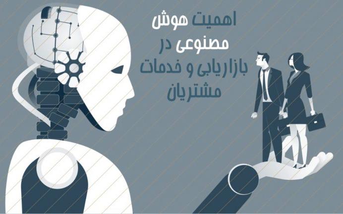 اهمیت هوش مصنوعی در بازاریابی و خدمات مشتریان